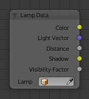 Lamp Data Node Blender Manual