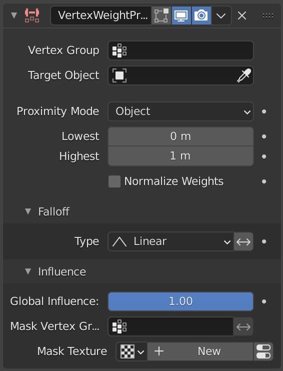 Vertex Weight Proximity Modifier — Blender Manual