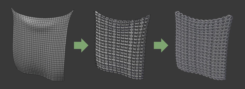 Surface Deform Modifier — Blender Manual