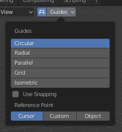 方向引导线图标_引导 — Blender Manual